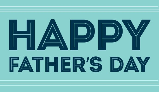 "Image of text ""Happy Father's Day"""